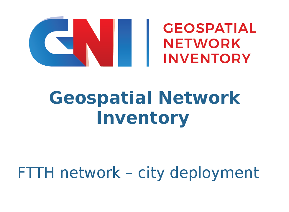 Geospatial Network Inventory